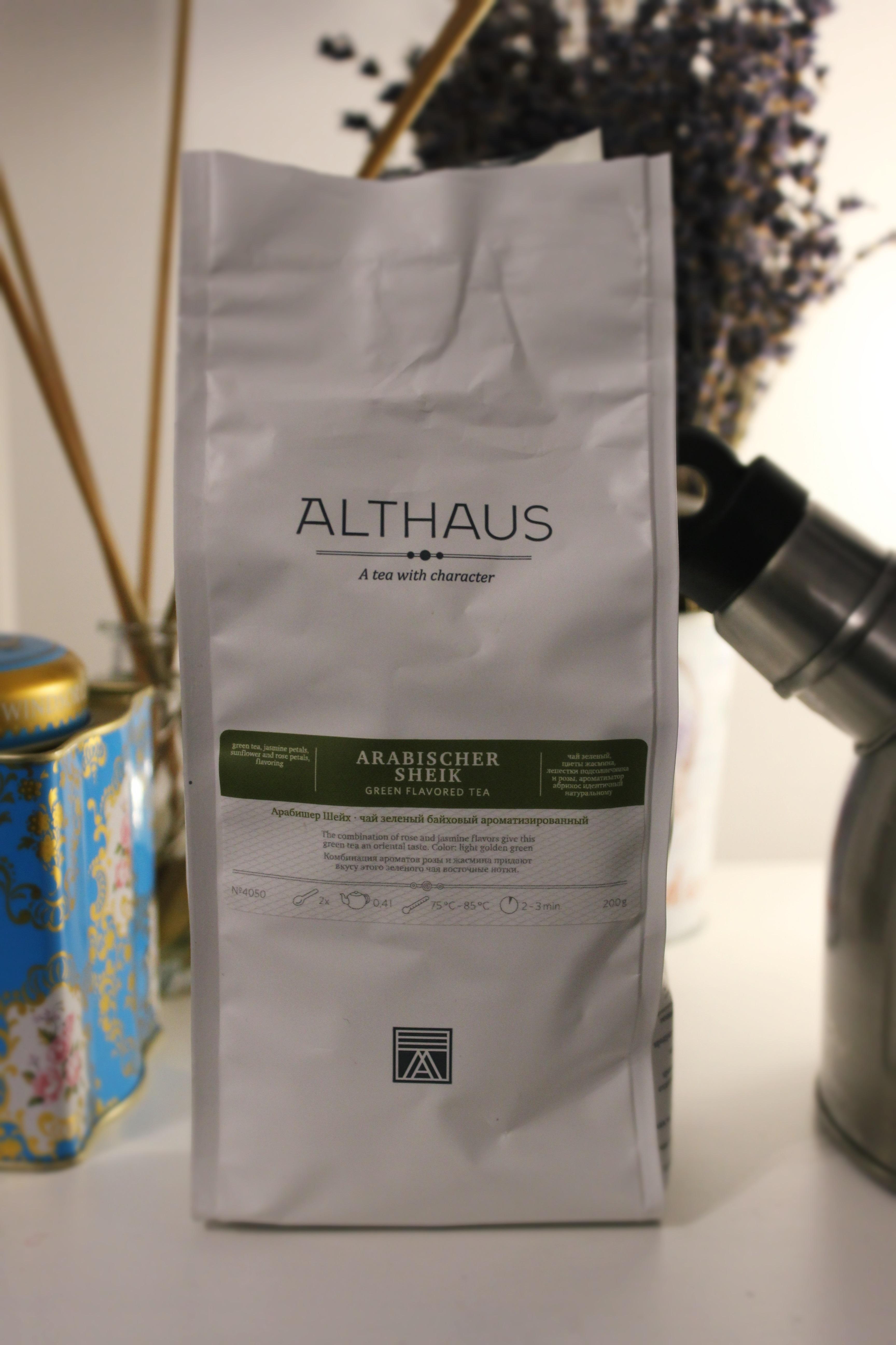ceai Althaus Arabischer Sheik